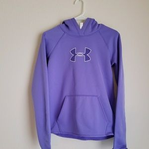 Under Armour Women's Cold Gear Storm Purple Hoodie